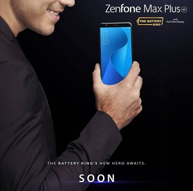 ASUS Zenfone Max Plus M1 Coming To PH This January 14