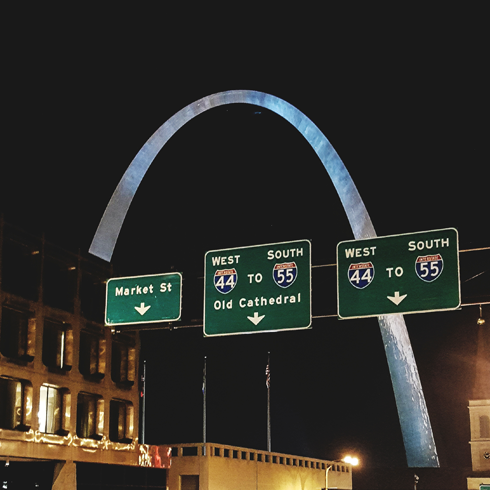 Downtown St Louis Missouri