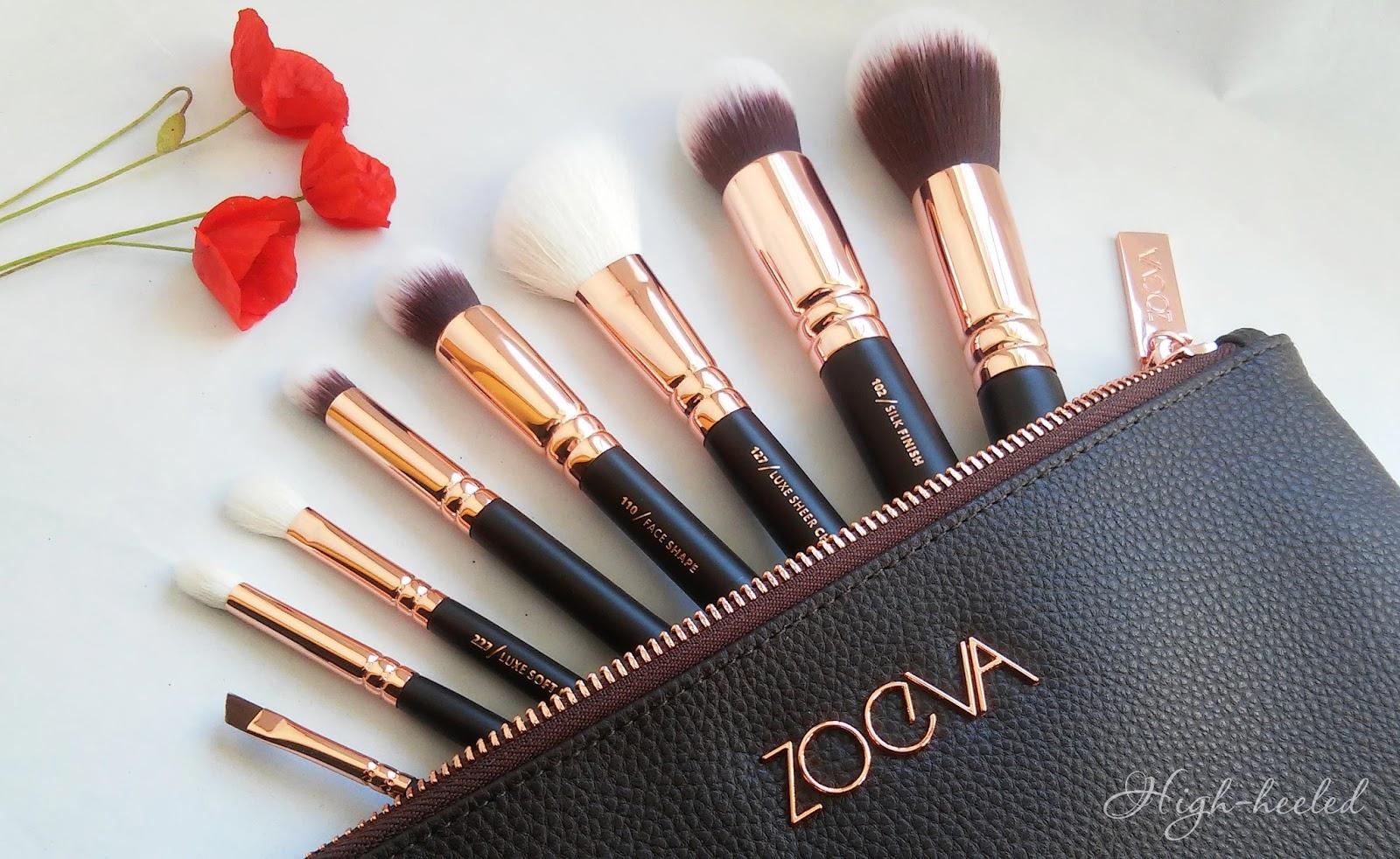 Смотреть Обзор кистей для макияжа от Zoeva видео