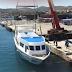 Η καθέλκυση του ταχύπλοου ΖΕΦΥΡΟΣ της SAOS Ferries στο λιμάνι του Λαυρίου (video)
