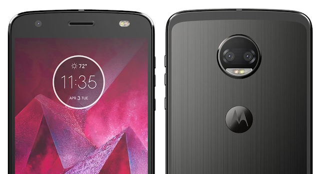 This is the Moto Z2 Force, Heading to AT&T