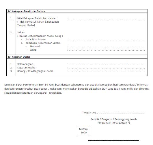 Simple: Cara Membuat SIUP (Surat Izin Usaha Perdagangan)