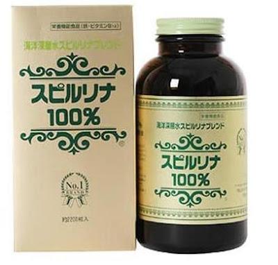 tảo biển Nhật Bản Spirulina 2200 viên