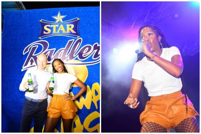 CONGRATS! Tiwa Savage Signs Endorsement Deal With Star
