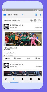 BBM Mod Iphone Style IOS Versi APK