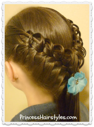 hook and ladder braid hair tutorial