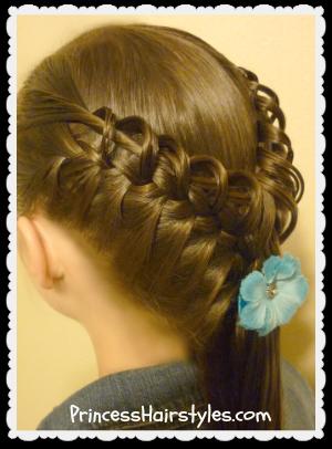 Fantastic Hook And Ladder Braidquot Hairstyle Tutorial Hairstyles For Girls Short Hairstyles Gunalazisus