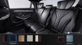 Nội thất Mercedes S500 L 2015 màu Đen 501
