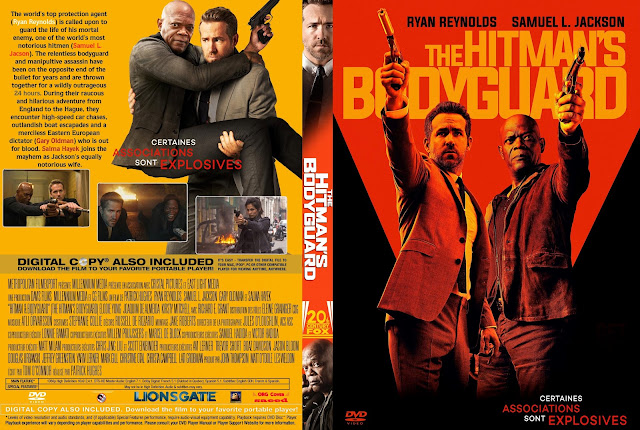The Hitman's Bodyguard DVD Cover