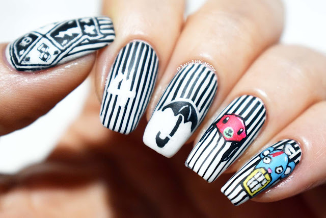 The Umbrella Academy nerdy nails Netflix