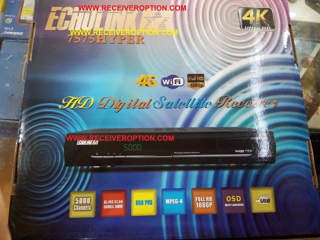 ECHOLINK 7575 HYPER HD RECEIVER AUTO ROLL POWERVU KEY SOFTWARE