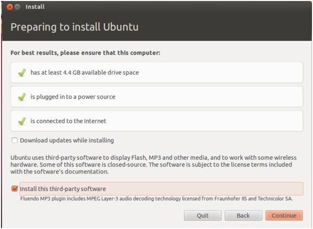 gambar tampilan instalation linux