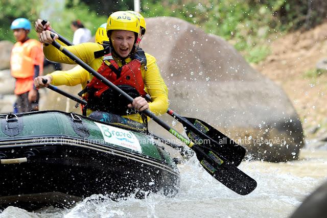 Mengintip  Latihan  Peserta WRC2015 Citarik River  Sukabumi