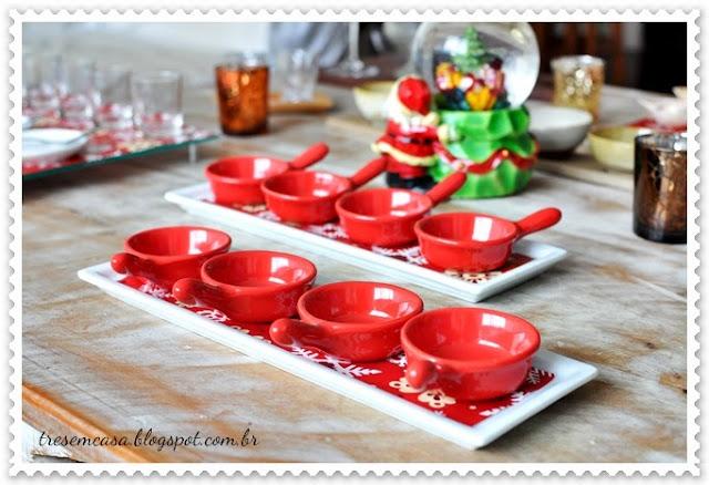 decorar mesa natalina