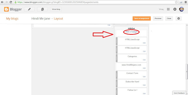 HTML, Widget
