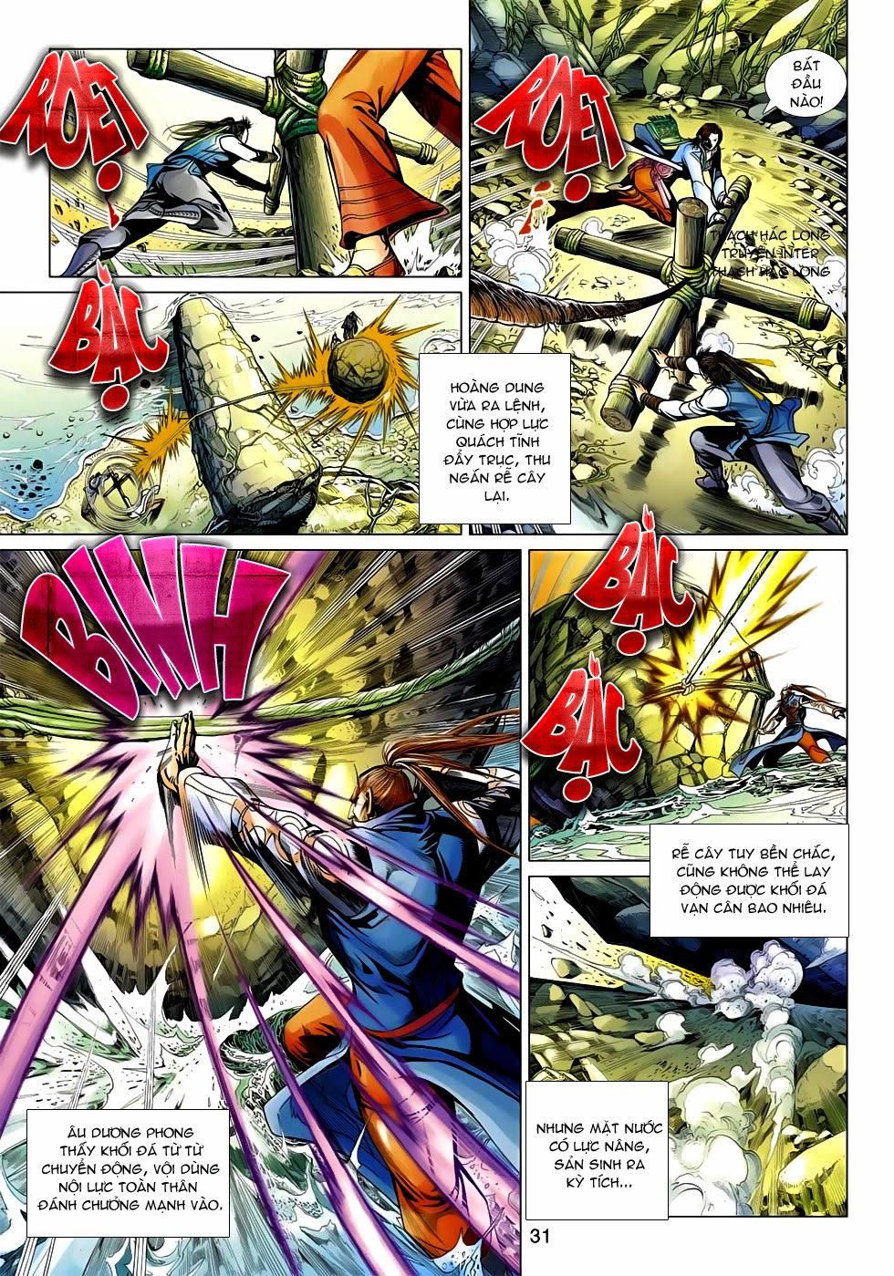 Anh Hùng Xạ Điêu anh hùng xạ đêu chap 54: kiếp hậu dư sinh thiến nữ kỳ mưu trang 31