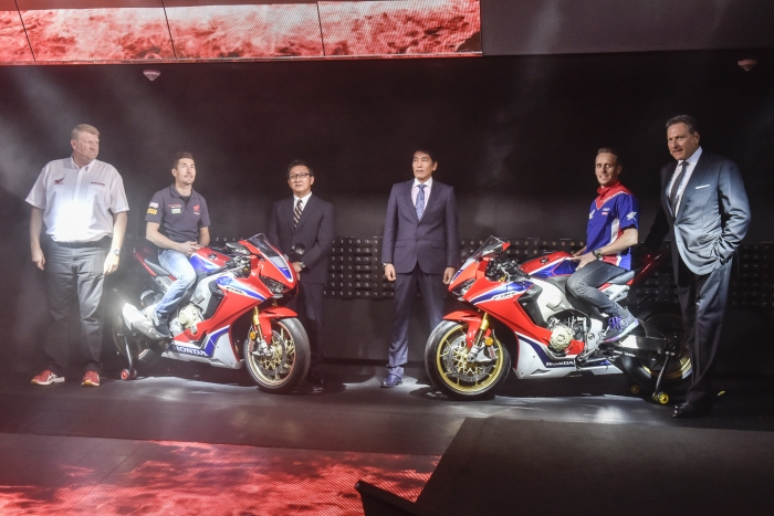 Honda CBR 1000RR Fireblade SP 2017 Di Lancarkan Di INTERMOT