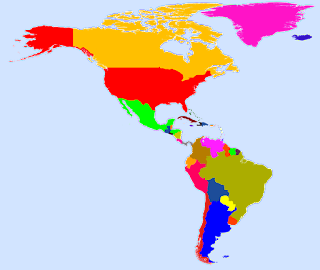 Negara di Benua Amerika dan Nama Ibukotanya