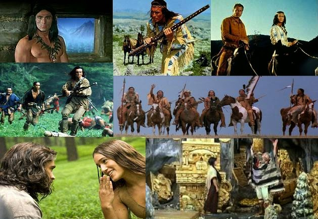 Indián filmek, indiános filmek
