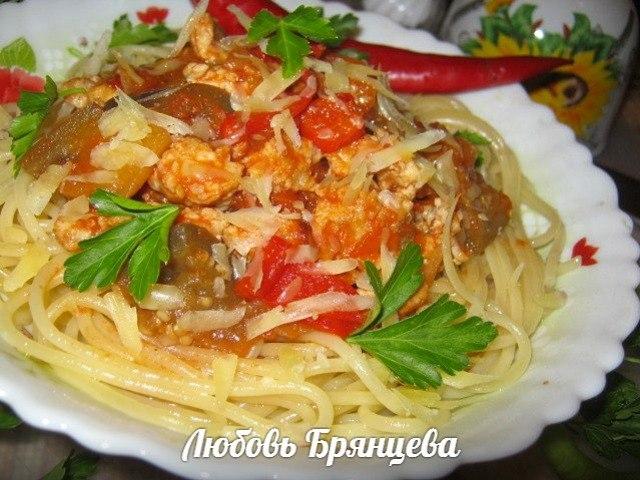 сицилийский соус для пасты
