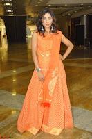 Bhanu Priya in Oreange Ethnic Anarkali Dress 16.JPG