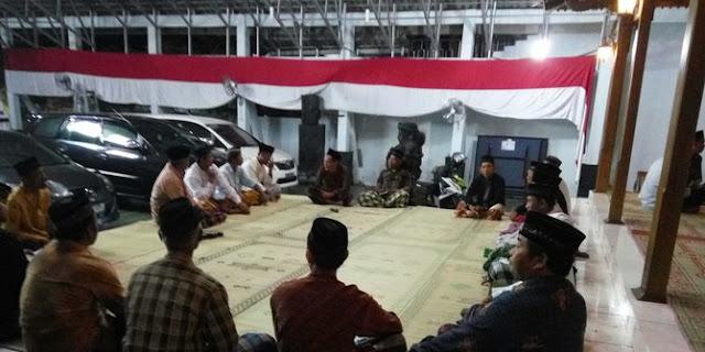 Tahlilan mengiring kepergian Ahmad Tidarwono, Putra Sulung Jenderal Sudirman