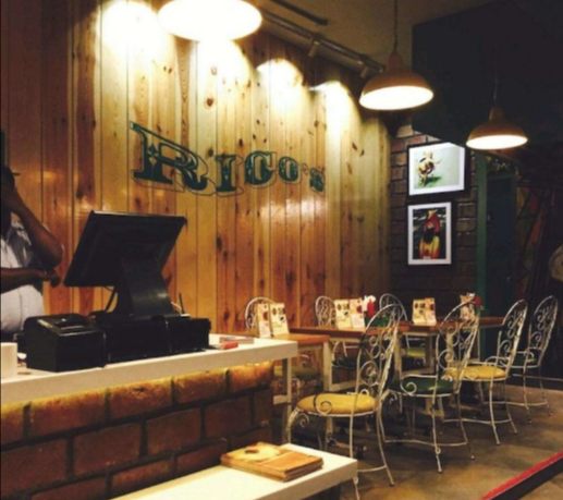 Rico's Cafe, Hudson Lane, Gtb Nagar, Delhi Review
