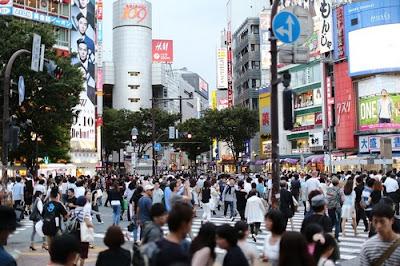 Tokyo street, Japan