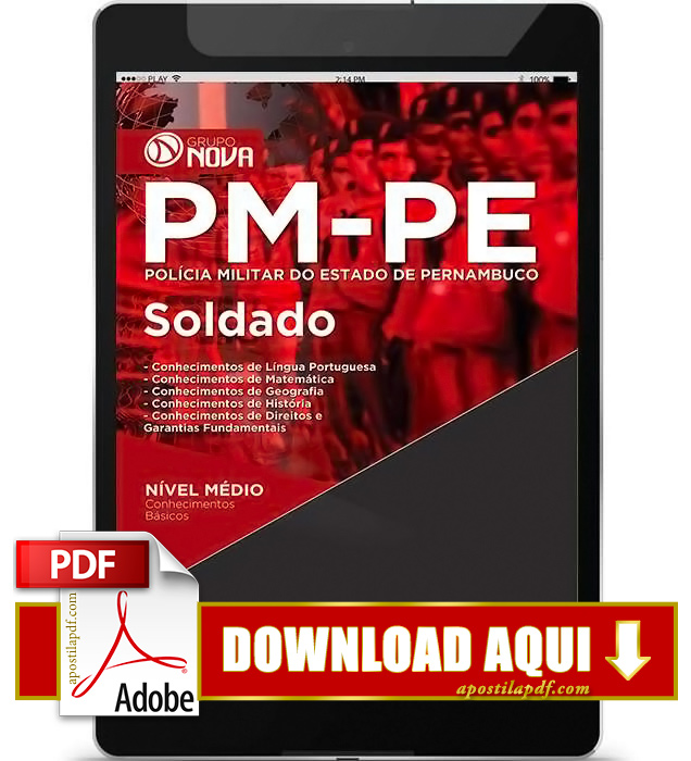 Apostila PM PE 2016 PDF Download