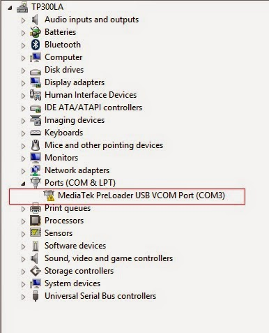 windows 8 mtk vcom usb preloader drivers