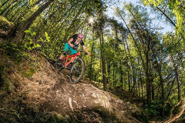 Trails mit dem Mountainbike Bozen Ritten S2 BBS, petra zeller