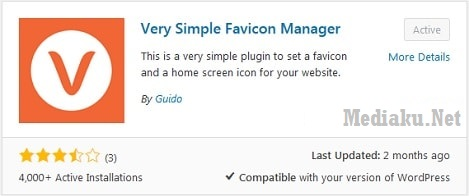 Favicon Blog Di Browser