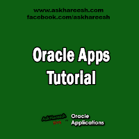 Oracle Apps Tutorial, www.askhareesh.com