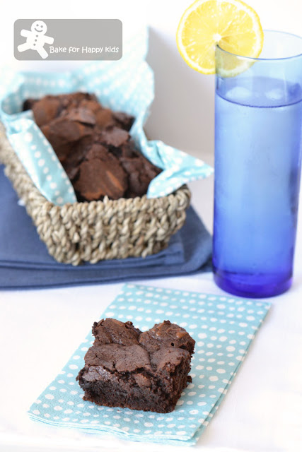 double chocolate brownies Martha Stewart
