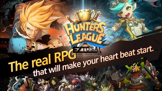 Hunters League The story of weapon masters Apk