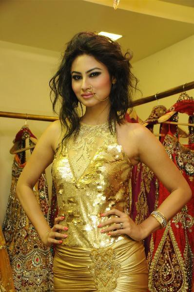 mouni-roy-in-golden-dress
