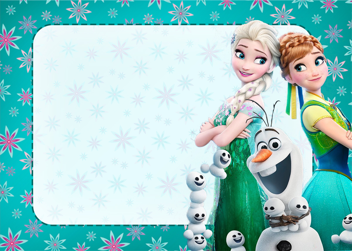 Frozen Fever Party Free Printable Invitations Oh My