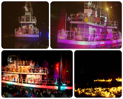 Fantasmic - show de encerramento do Hollywood Studios