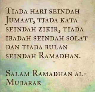 Tiada Bulan Seindah Ramadhan