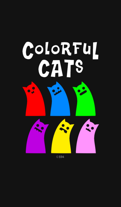 Colorful CATs !