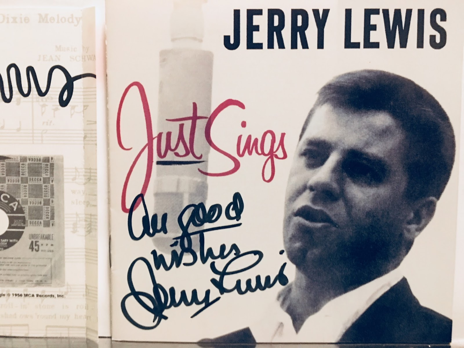 Cd Completo Vasco Rossi Non Solo Vinile Jerry Lewis Just Sings Cd Signed Autograph