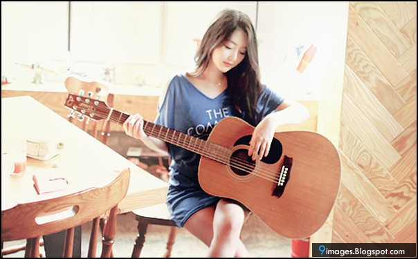 Cute Girl Guitar Wallpapers Hd The Galleries Of Hd Wallpaper