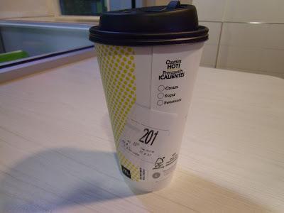McDonald's Large Americano Cup