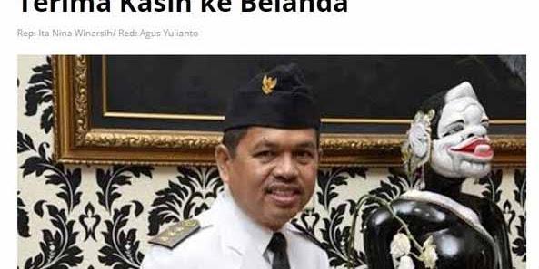 Dedi Mulyadi Pemimpin Bermental Inlander?