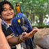 นกแก้วยักษ์ ราคาหลักล้าน ที่ สวนปาล์มฟาร์มนก จ.ฉะเชิงเทรา