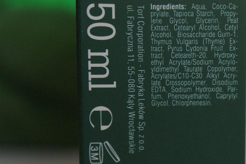Tołpa z Biedronki - matujący krem normalizujący skład