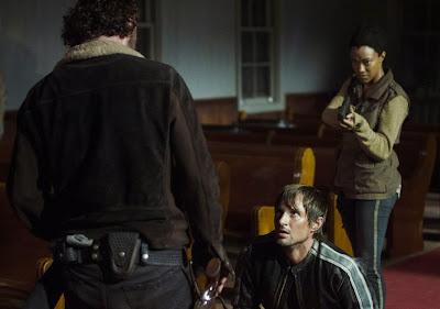 The Walking Dead 5x03:  Un tetto e quattro mura (Four Walls and a Roof)