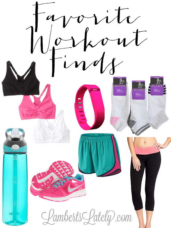 Great list of workout gear!  A few of these are on sale right now too...site has list of coupon codes.