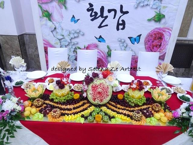 fruit carving arrangement 2018