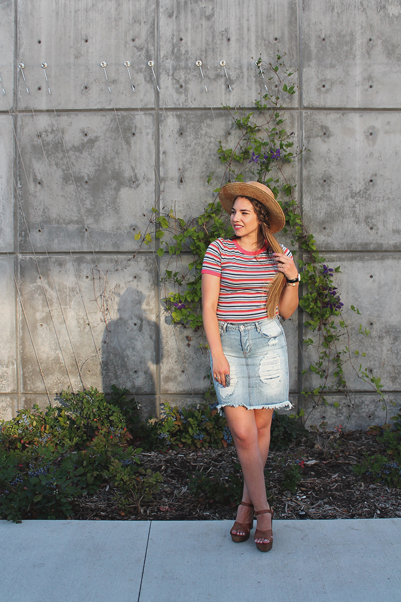 summer outfit, cute outfit ideas, brunette blogger